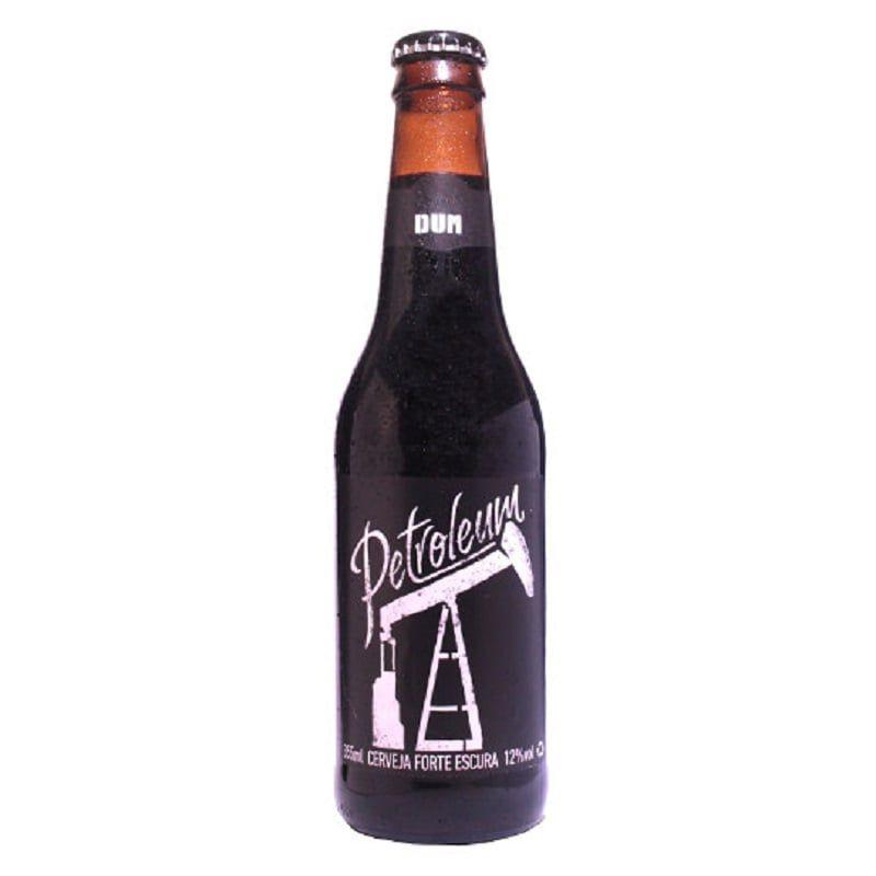 Kit de Cervejas DUM Petroleum com Taça Hallertau de 400 ml