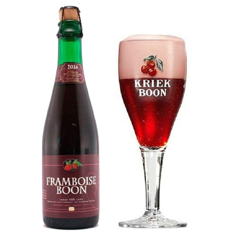 Kit de Cervejas Framboise Boon com Taça 300 ml