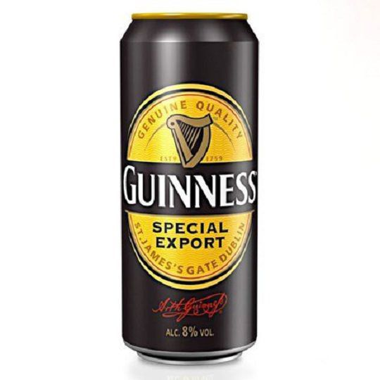 Kit de Cervejas Guinness Export e Draught