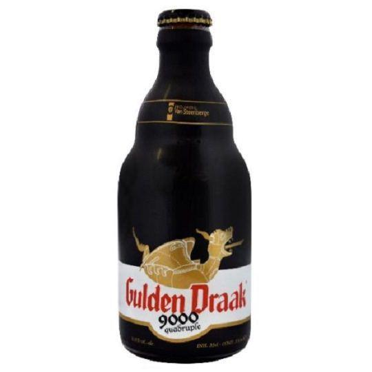 Kit de cervejas Gulden Draak com copo