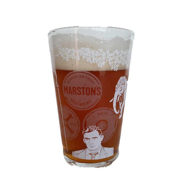 Kit de Cervejas Hobgoblin com Copo Pint Marstons