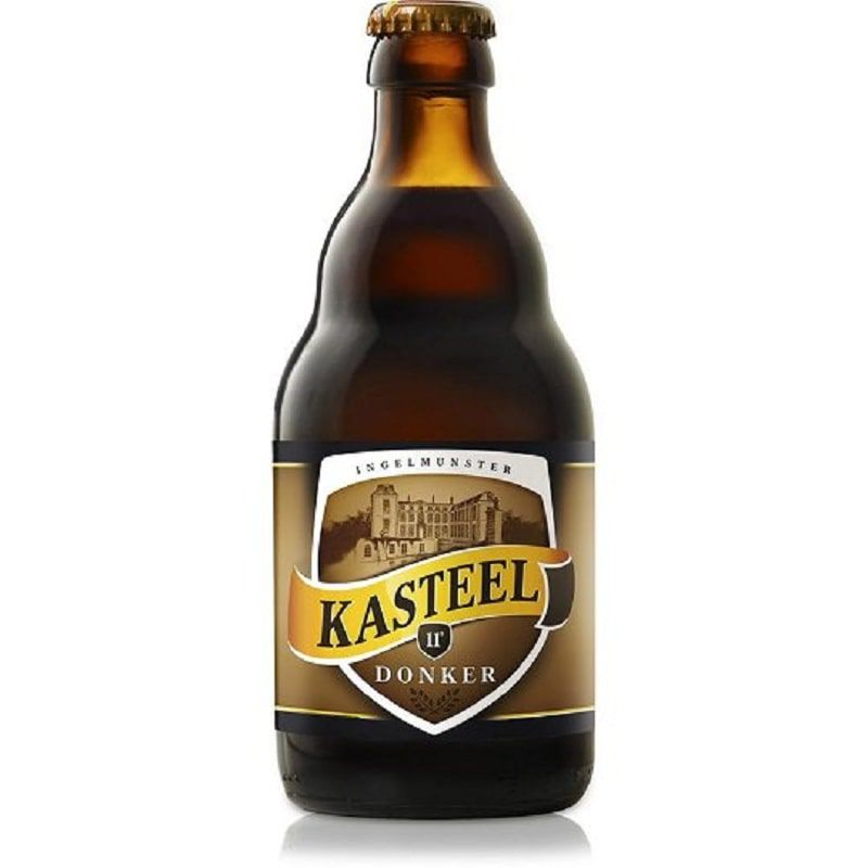 Kit de Cervejas Kasteel contendo 4 Rótulos e Taça Cuvee 330 ml