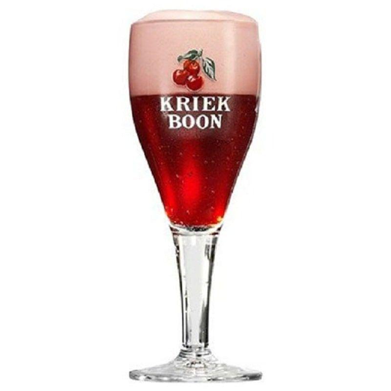 Kit de Cervejas Kriek e Framboise Boon com Taça