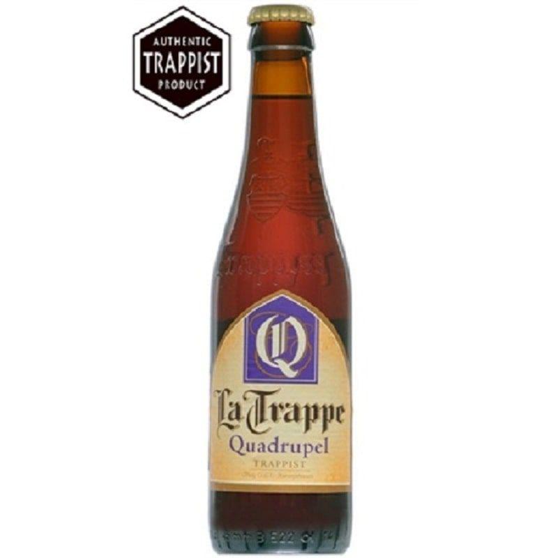 Kit de Cervejas La Trappe Quadrupel com Taça