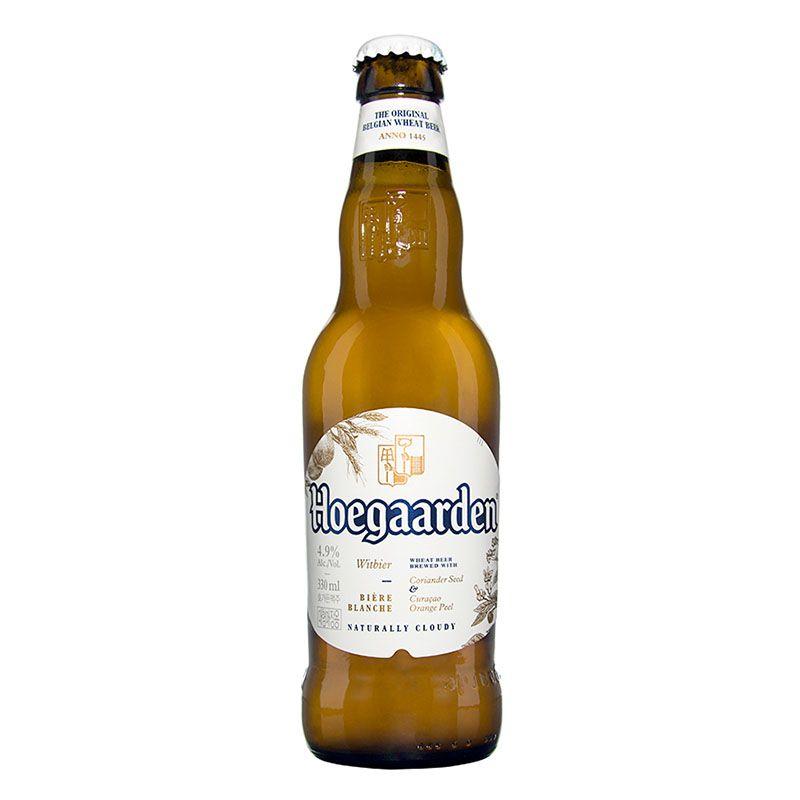 Kit de Cervejas Leffe e Hoegaarden contendo 5 Rótulos