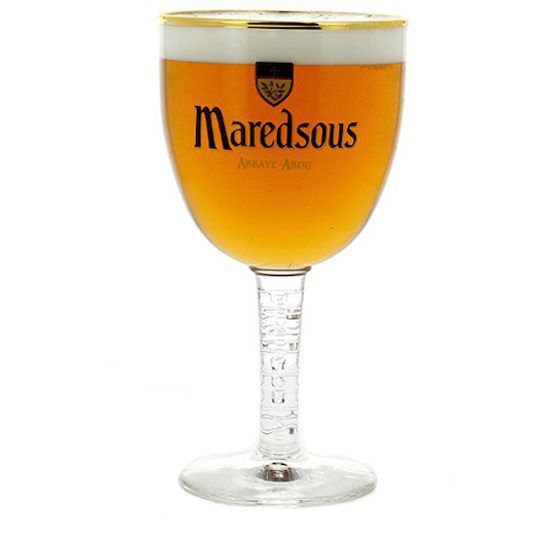 Kit de Cervejas Maredsous Blond com Taça Gratuita