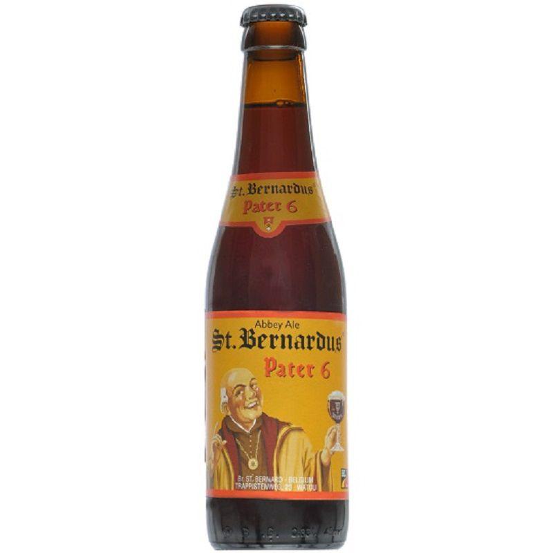 Kit de Cervejas St Bernardus com 3 Cervejas e Taça 330 ml