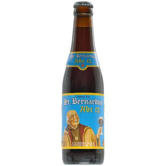 Kit de Cervejas St Bernardus com 4 Cervejas e Taça 330 ml