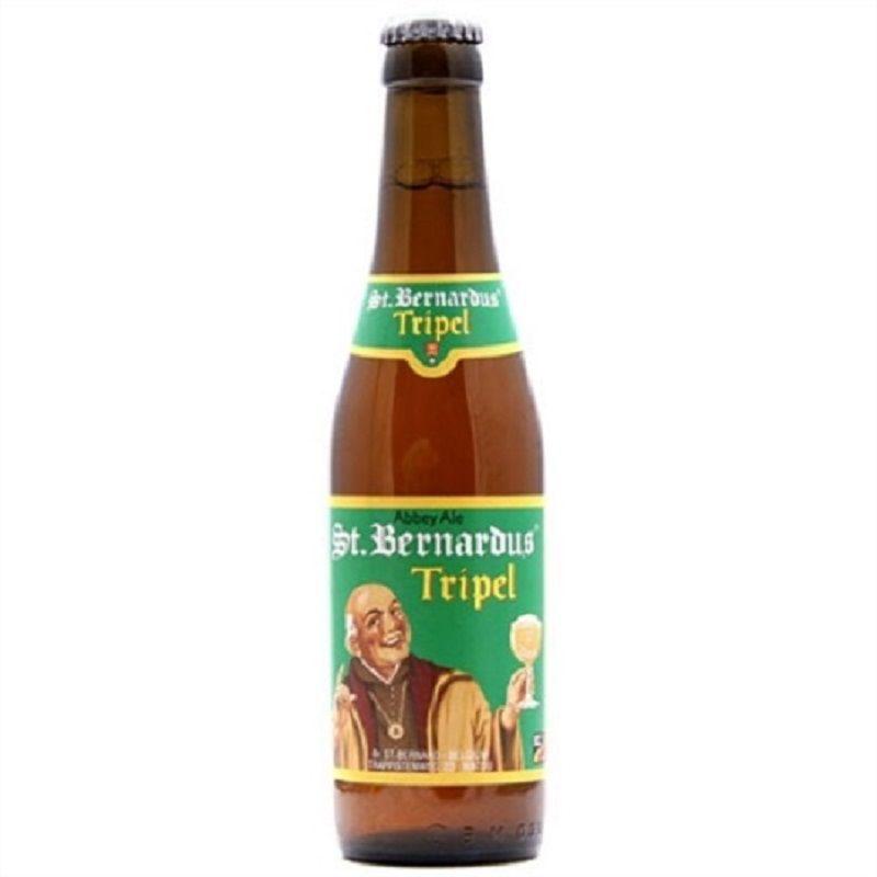 Kit de Cervejas St Bernardus com Taça