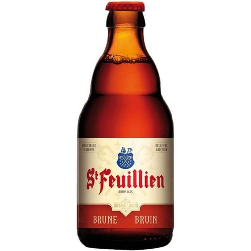 Kit de Cervejas St Feuillien Misto com Taça Hallertau