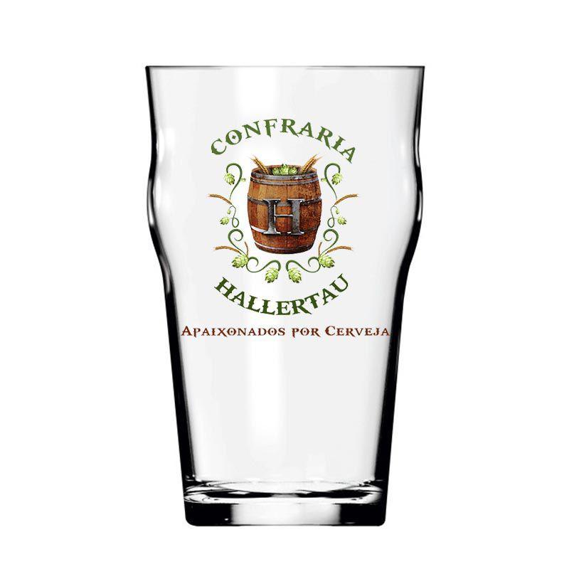 Kit de Cervejas St Patrick's Misto com Copo Hallertau