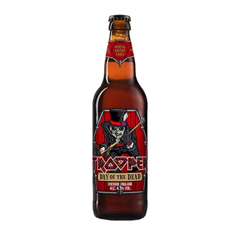 Kit de Cervejas Trooper com 4 Estilos e um copo Pint