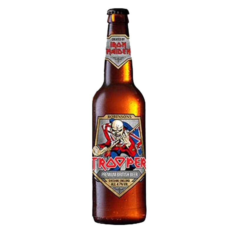 Kit de Cervejas Trooper Iron Maiden