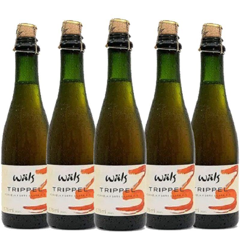 Kit de Cervejas Wals Trippel contendo 5 Rótulos
