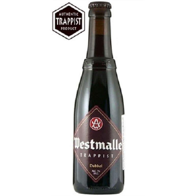 Kit de cervejas Westmalle com taça
