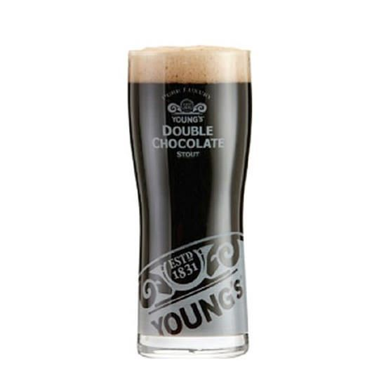Kit de Cervejas Young's Double Chocolate com Copo