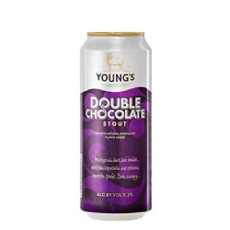 Kit de Cervejas Youngs Double Chocolate Stout com 5 Unidades