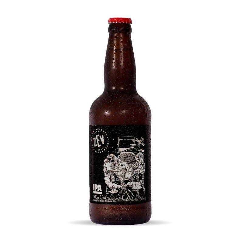 Kit de Cervejas Zev contendo 4 Rótulos com Copo Pint
