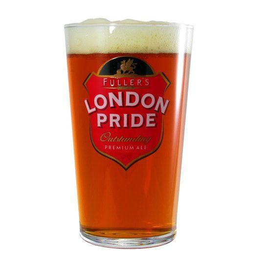 Kit Fuller's London Pride e Ipa com Copo 568 ml