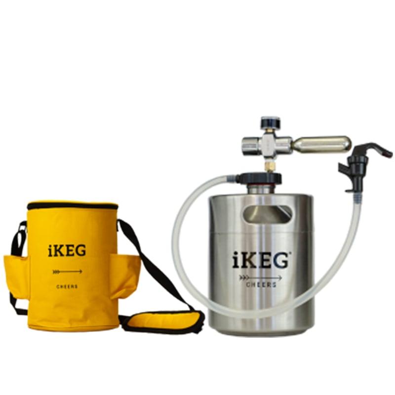 Kit Ikeg 2 Litros com Torneira de Plástico e Bolsa Térmica