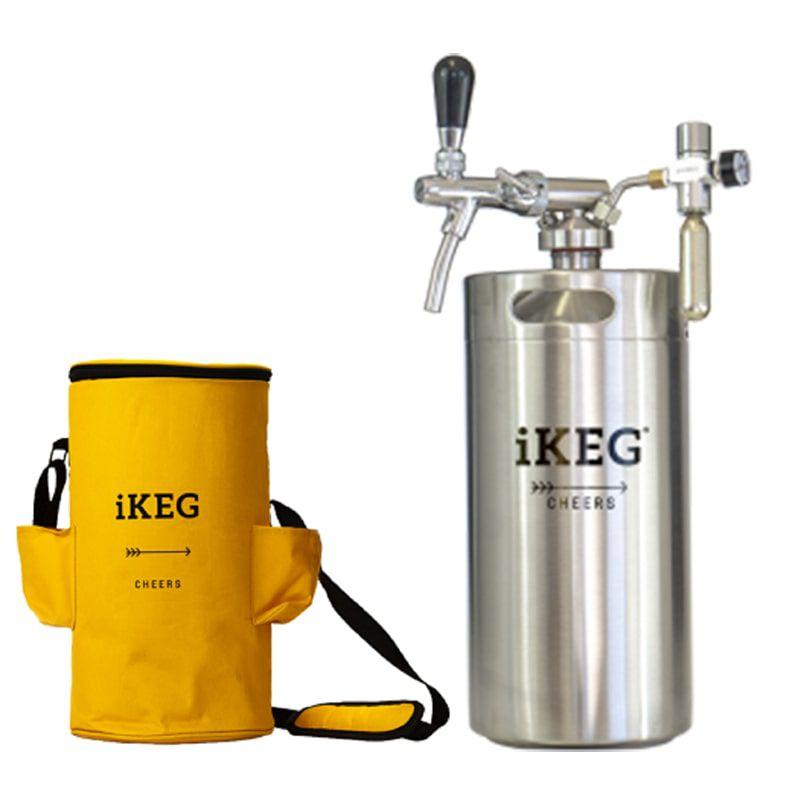 Kit Ikeg de 10 Litros com Torneira Italiana e Bolsa Térmica