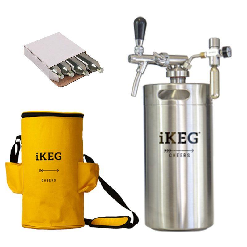 Kit Ikeg de 10 Litros com Torneira Italiana e Bolsa Térmica e Co2
