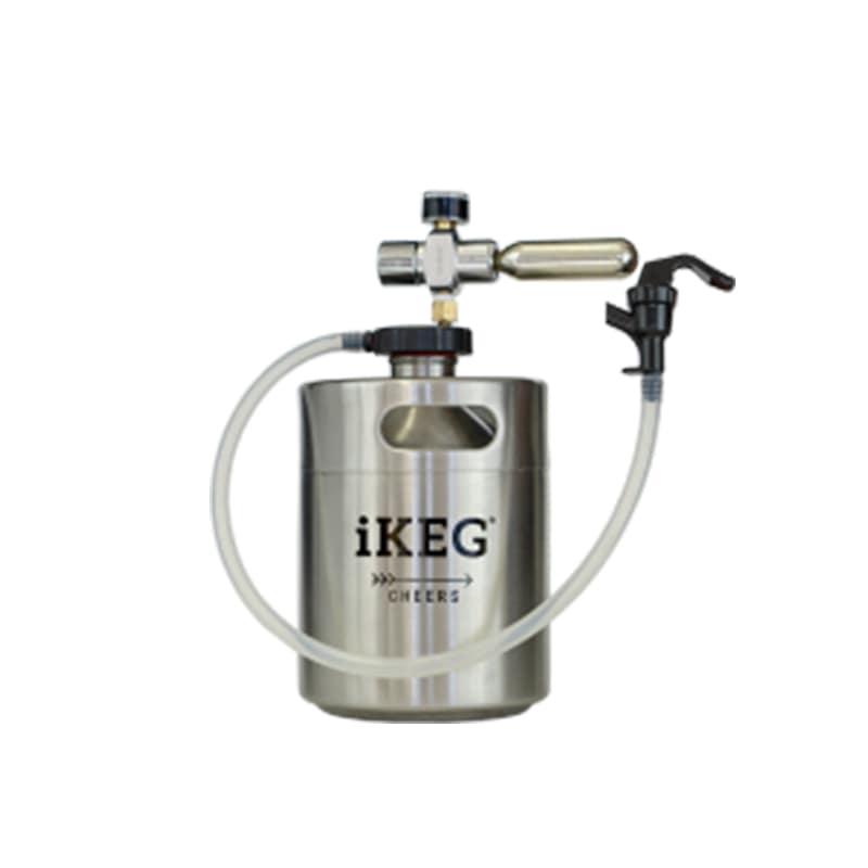 Kit Ikeg de 2 Litros com Torneira Plástica e Bolsa Térmica e CO2