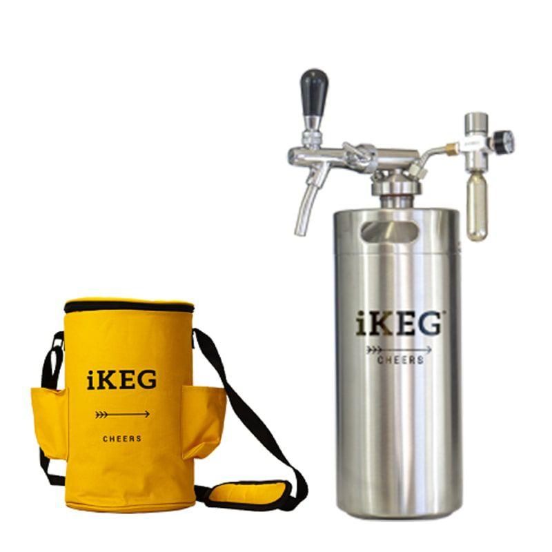 Kit Ikeg de 4 Litros com Torneira Italiana e Bolsa Térmica