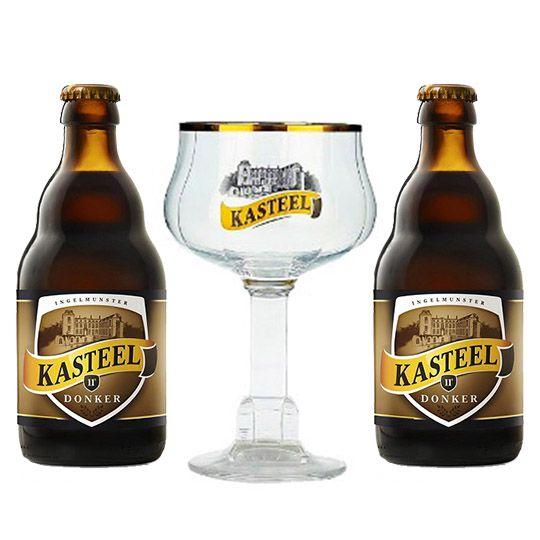 Kit Kasteel Donker com Taça