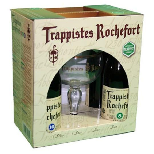 Kit Rochefort 4 Cervejas e 1 Taça
