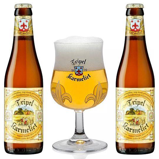 Kit Tripel Karmeliet 2 Cervejas com Taça 200 ml