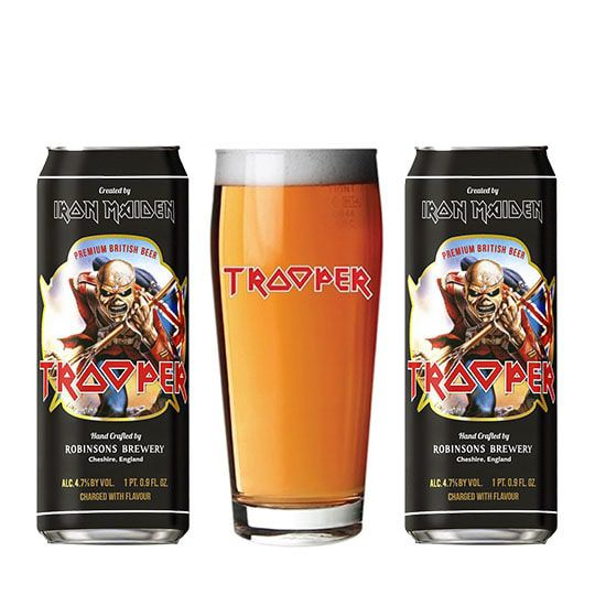 Kit Trooper contendo 2 Cervejas com Copo Pint 500 ml