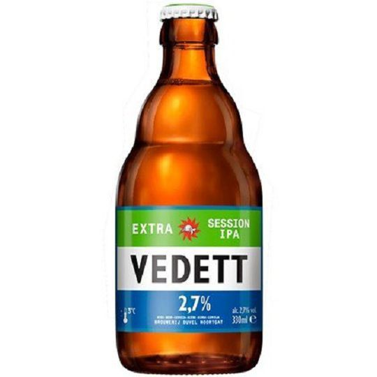 Kit Vedett Extra Session Ipa com Copo
