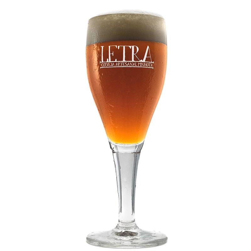 Taça Cerveja Letra 330 ml