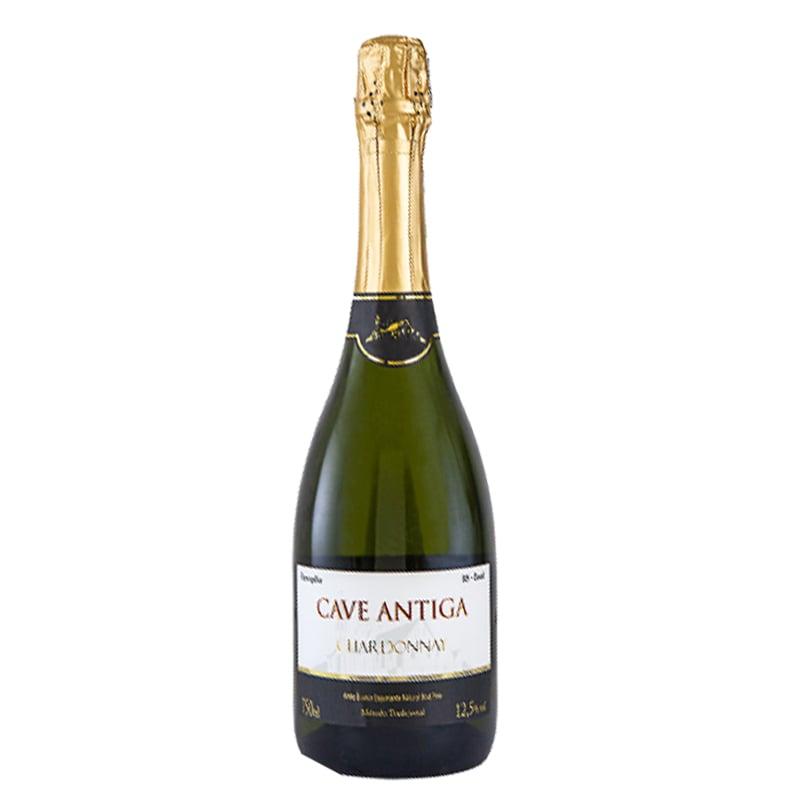 Vinho Cave Antiga Espumante Chardonnay 750 ml