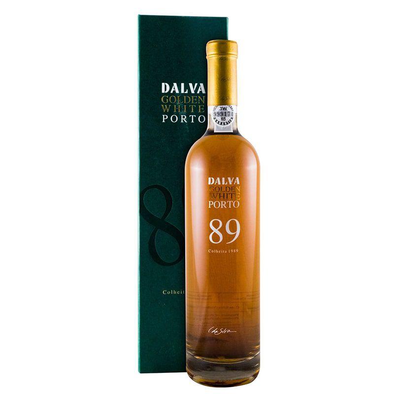 Vinho Dalva Colheita Golden White Porto 89 750 ml