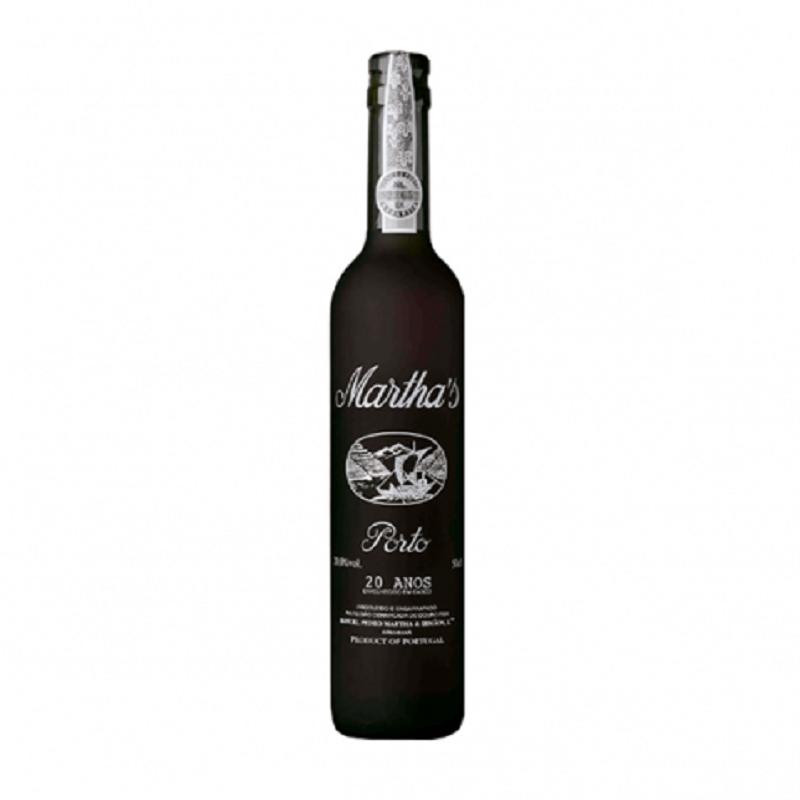 Vinho Martha's Porto 20 anos 500 ml