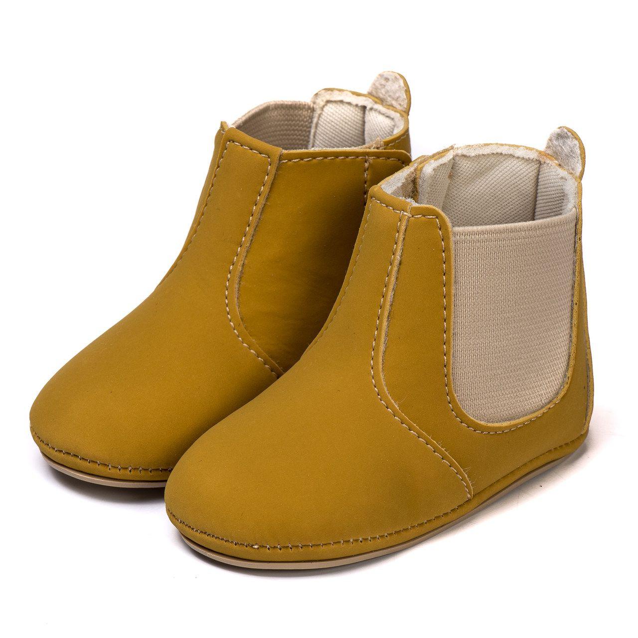 Bota Bebe Kapell Infantil  country Amarelo
