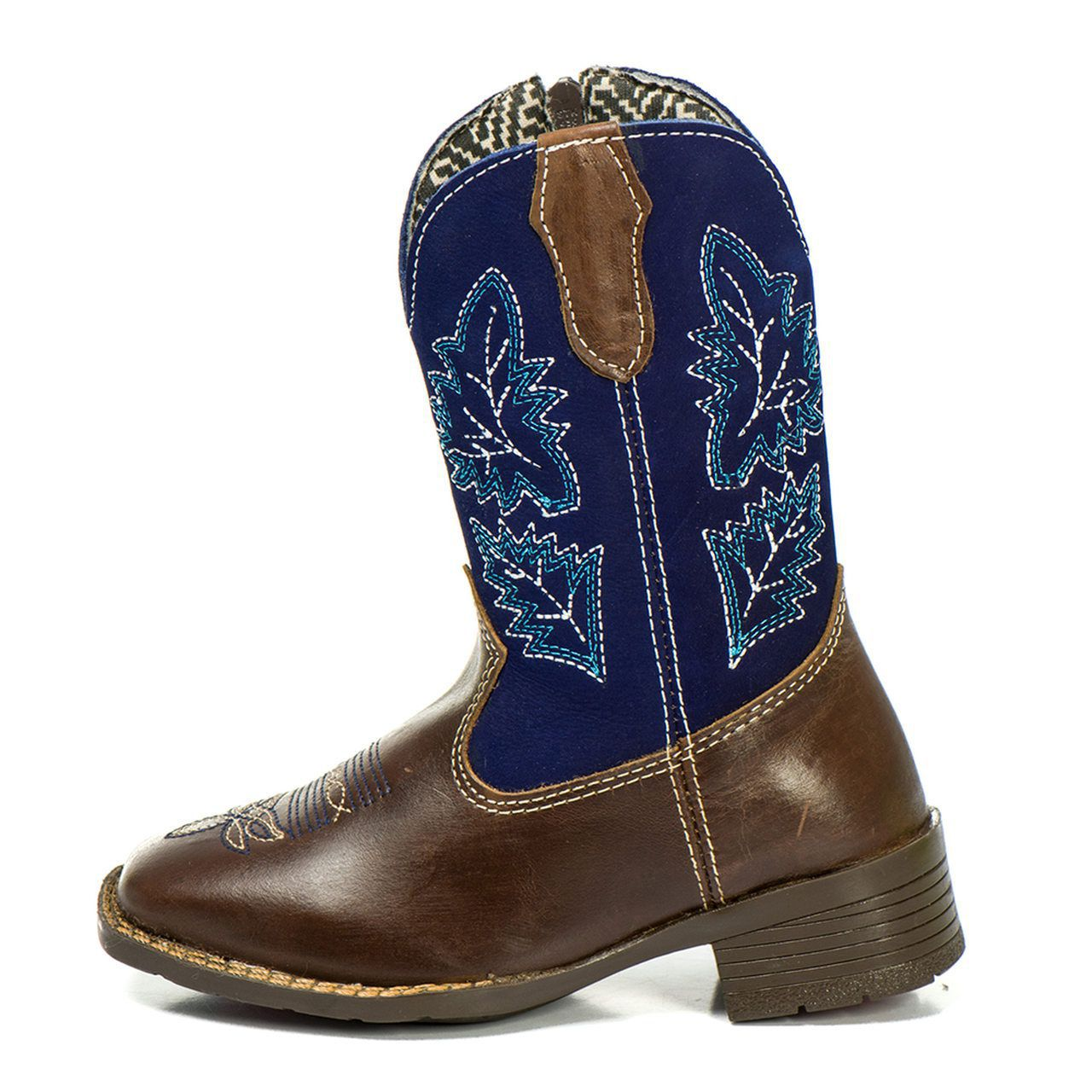 Bota Country Kapell Texana Infantil Azul Masculina Menino