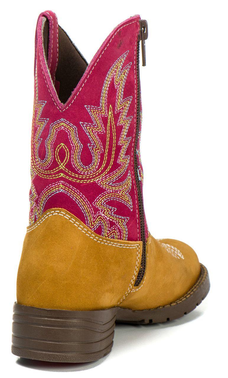 Bota Country Kapell Texana Infantil Rosa Feminina