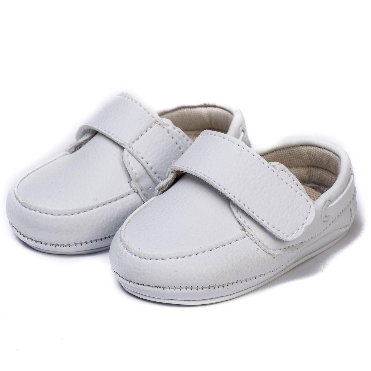 Mocassim Bebe Kapell Infantil  Branco