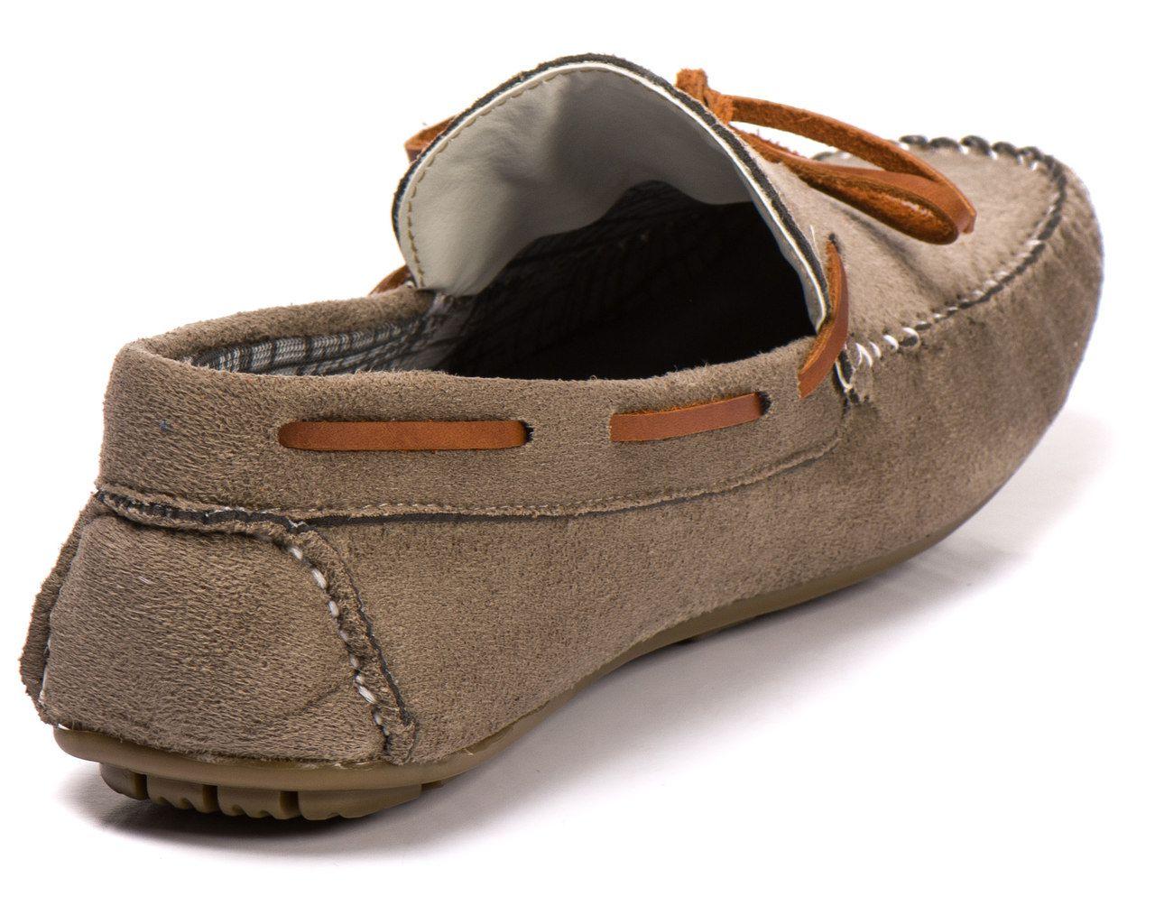 3c9afb9948 Sapato Mocassim Camurça sintético areia - Kapell Calçados