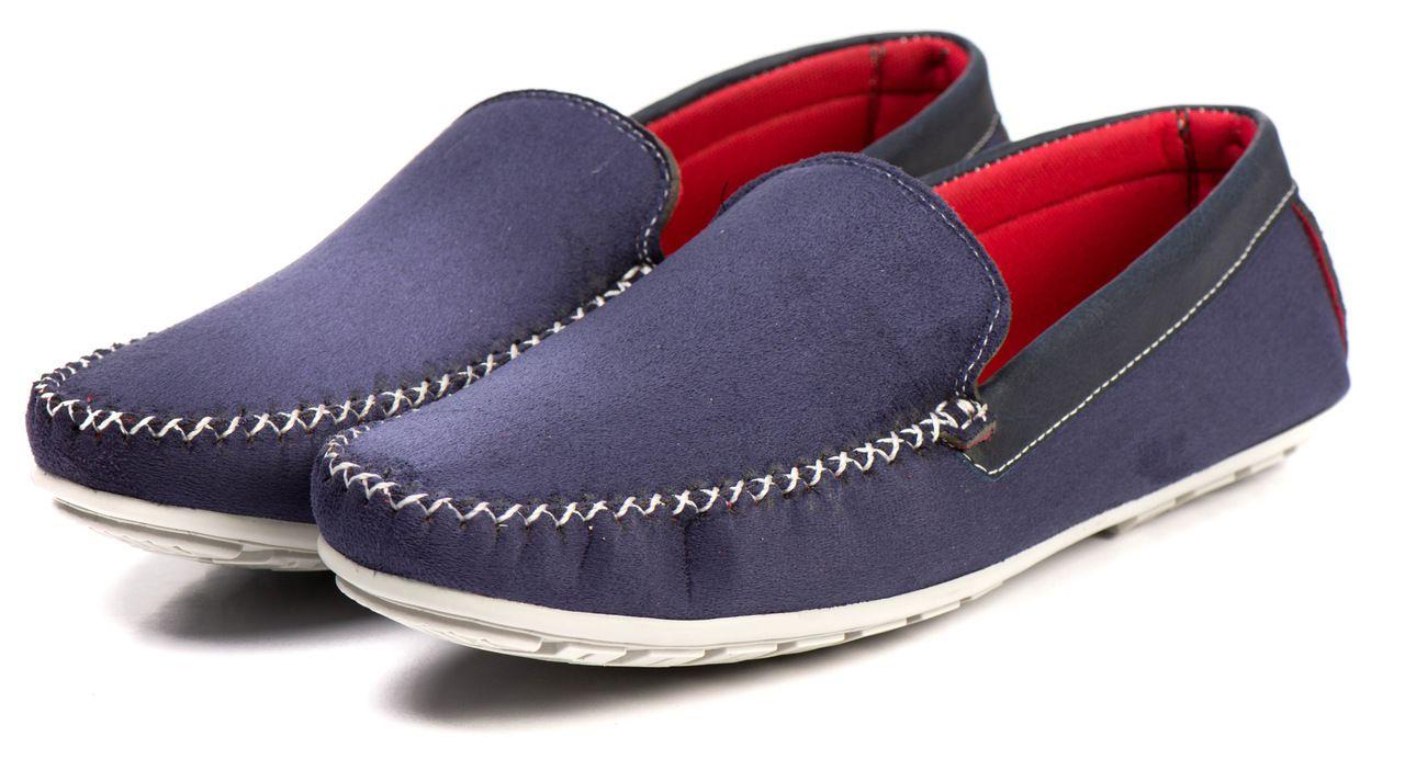 Sapato  Mocassim Kapell Azul