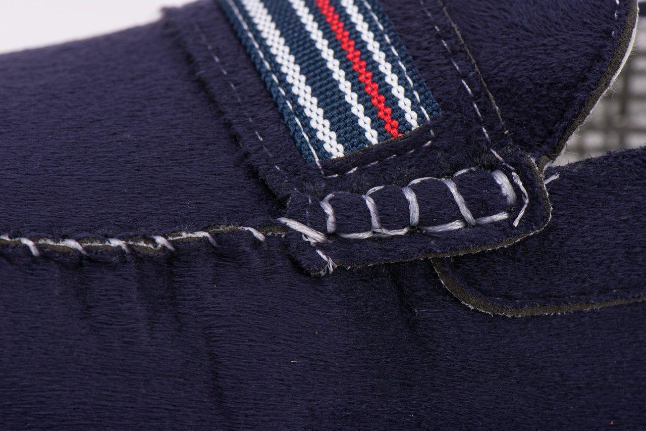 Sapato Mocassim Kapell Azul com branco