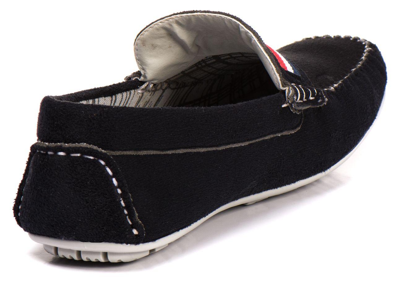 Sapato Mocassim Kapell Preto Gorgurão