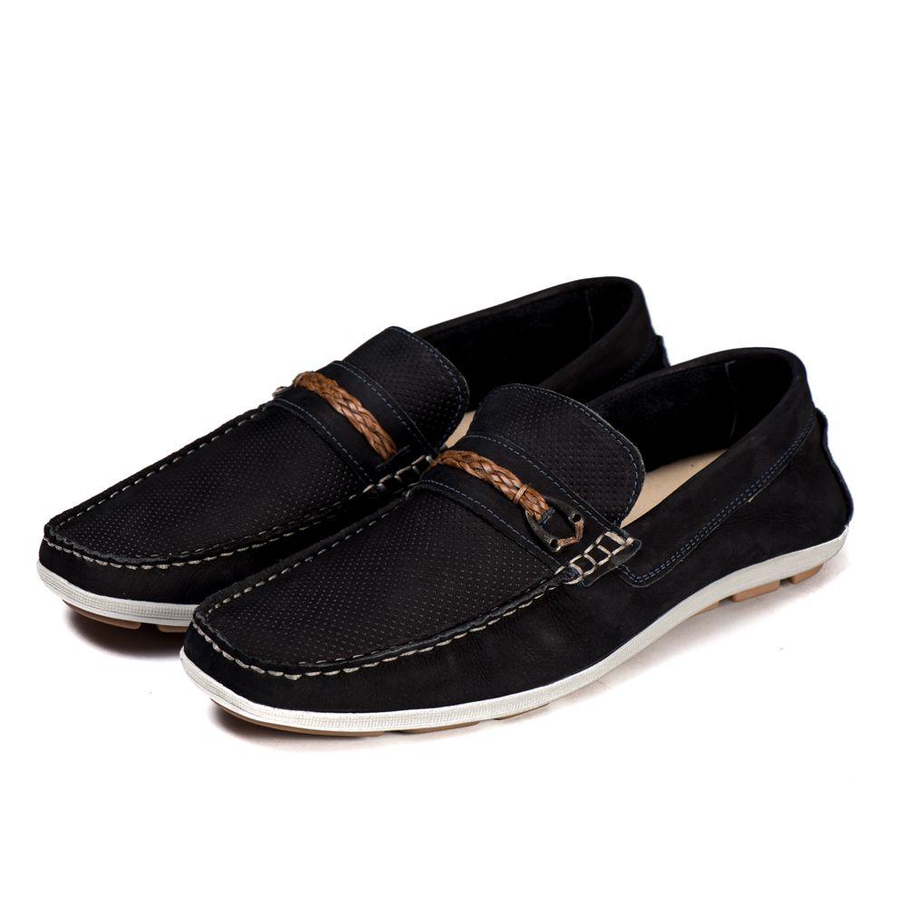 Sapato Mocassim Kapell Azul Escuro 1010