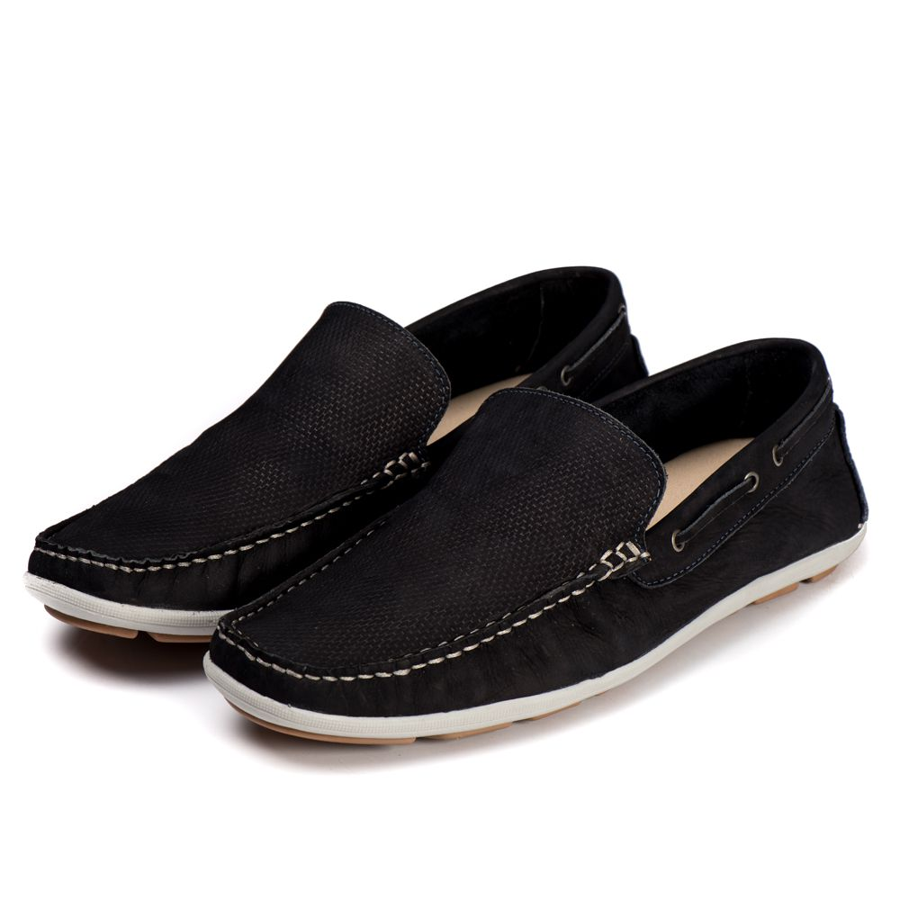 Sapato Mocassim Kapell Azul Escuro 1000