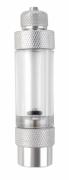 Conta Bolhas De Alumínio Com Válvula Anti-retorno P/ Aquário