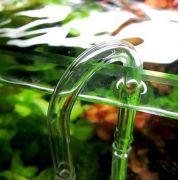 Curva de vidro p/ conexão da mangueira de CO2
