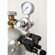 Kit p/ cilindro de CO2 com 2 saídas e 2 solenoides p/ aquário